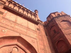 The Entry Gate to the Red Fort in Delhi
