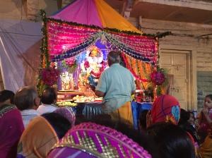 Worshiping Ganesh, Jodhpur, Rajesthan