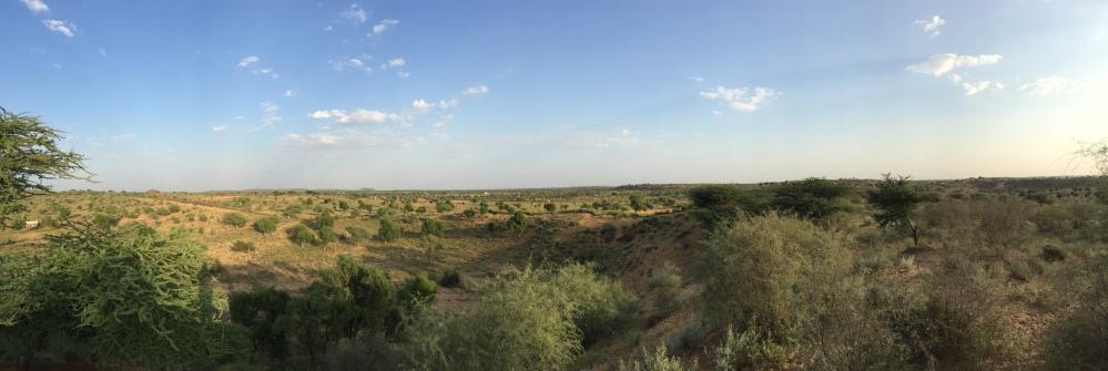 The desert at Osian
