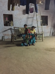 Children in a homestead in Osian, Rajasthan