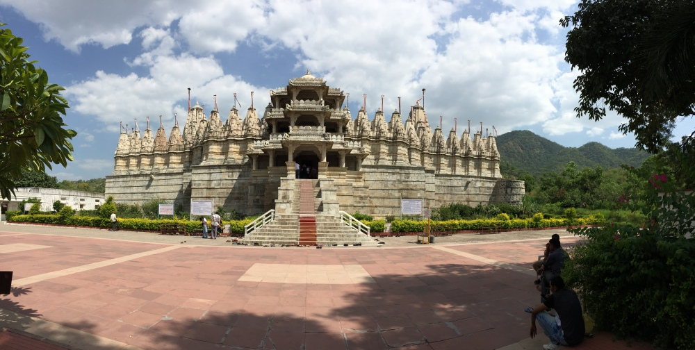 The Jain temple at Ranakpur