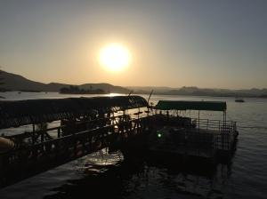 Sunset on Lake Pichola, Udaipur