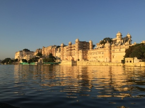 City Palace from lake Pichola, Udaipur