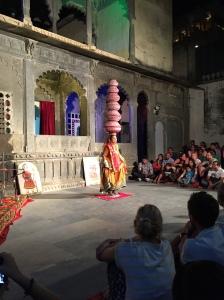 Folk dancing in Udaipur, Rajasthan