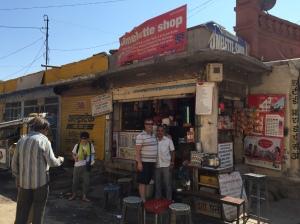 Omelette shop, Sadar Market, Jodhpur