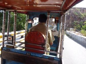 An ornate rickshaw in Jodhpur