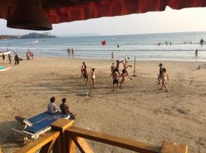Volleyball on Palolem beach, Goa