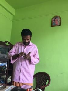 In the Mirror shop, Aranmula