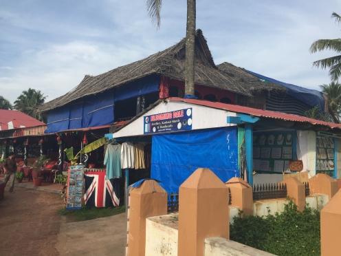 Blooming Dales shop at Varkala beach